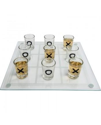 Tic Tac Toe Shot Glass Drinking Game