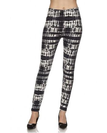 Women's Leggings - Black Tie Dye fits sizes 8-18