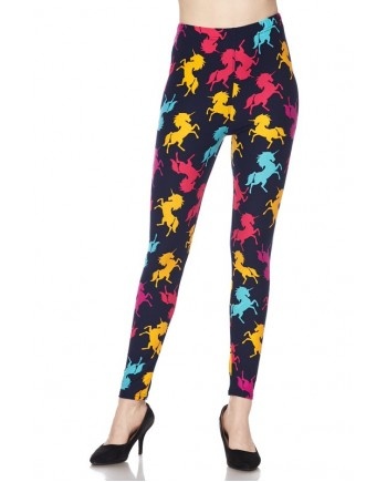 Women's Plus Size Leggings - Unicorn Shadows fits sizes 12-24