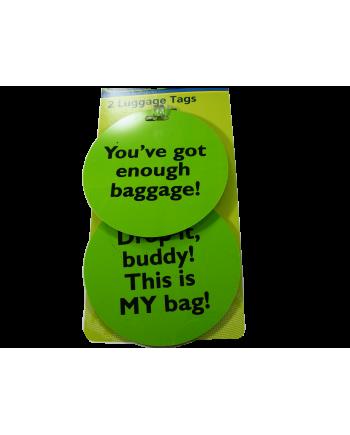 Humorous Luggage Tags