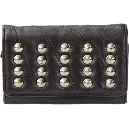 Ladies Leather Stud Wallet