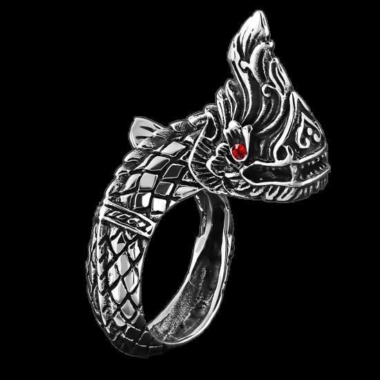 Huge Dragon Ring