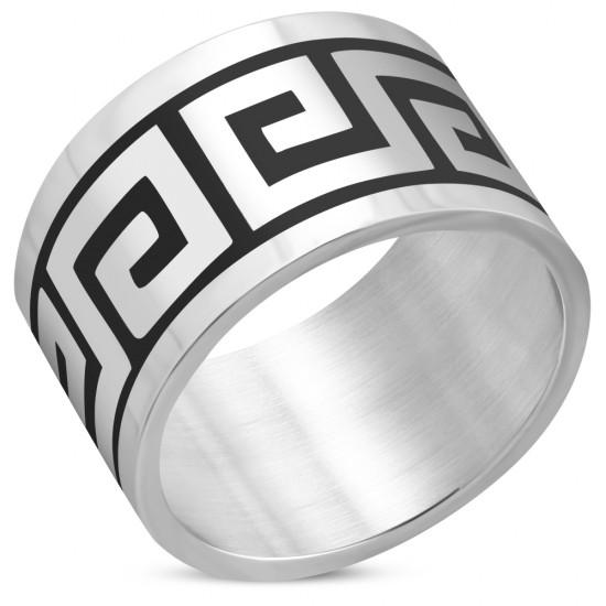 Greek Key Pattern Ring