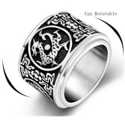 Dragon Spinner Ring