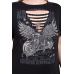 American Motorcycle Black T-shirt