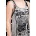 Motorcycle Sleeveless T-shirt Taupe