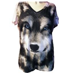 Blue Eyed Wolf T-shirt